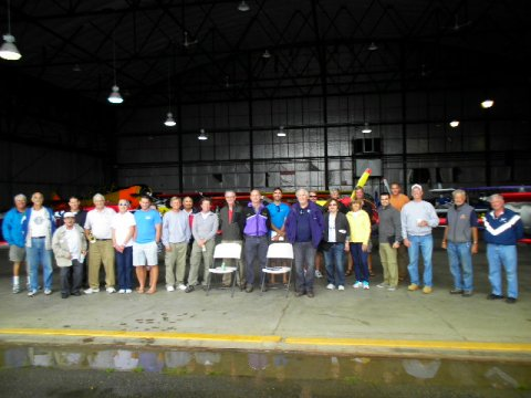 Volunteers, judges, and pilots at Olean, NY